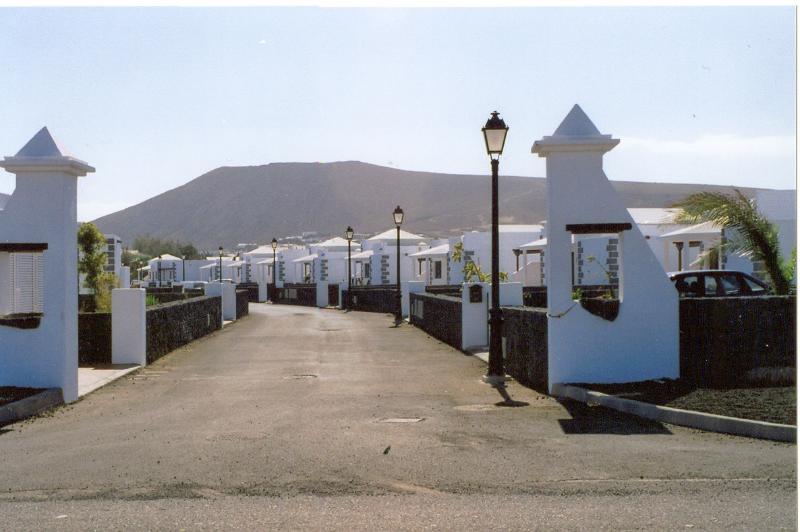 Entrance to Parque del Rey