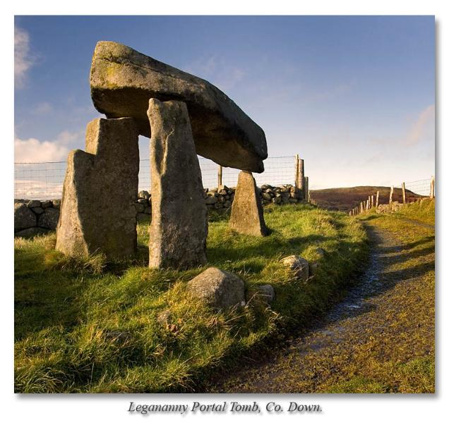 Legananny Dolmen, near Castlewellan