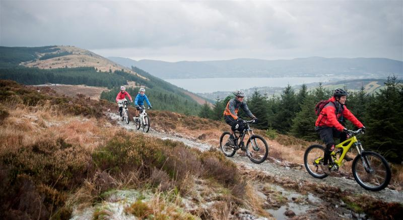 Mountain bike trails, Rostrevor