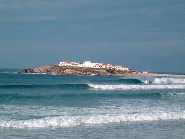 Baleal Island 5 minutes walk away along the beach, beautiful