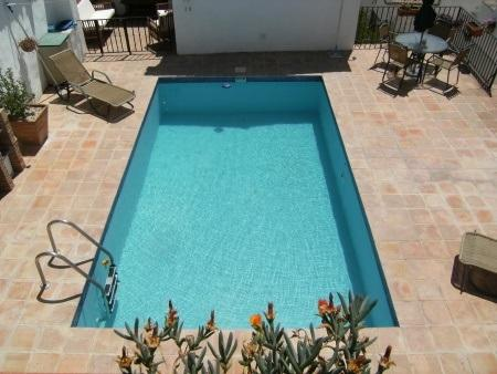 Pool Area with BBQ