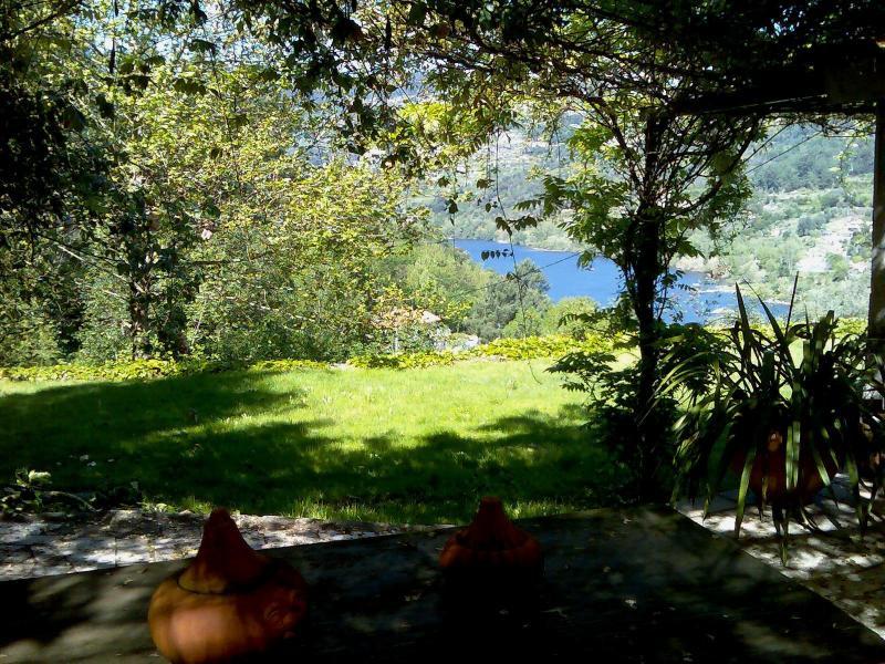 Vista de jardins