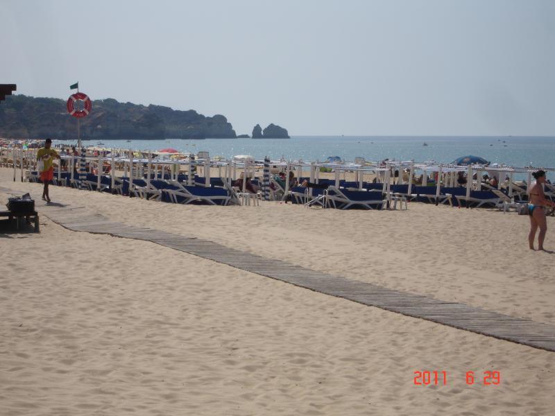 Alvor's beach