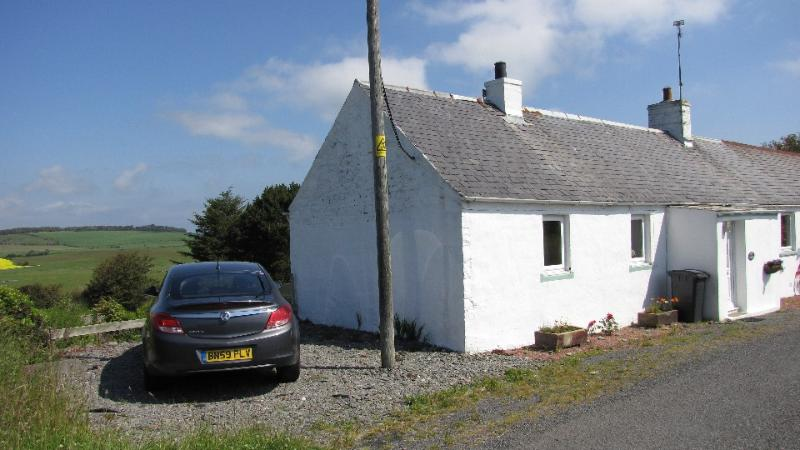 Parking available at the side of the cottage.