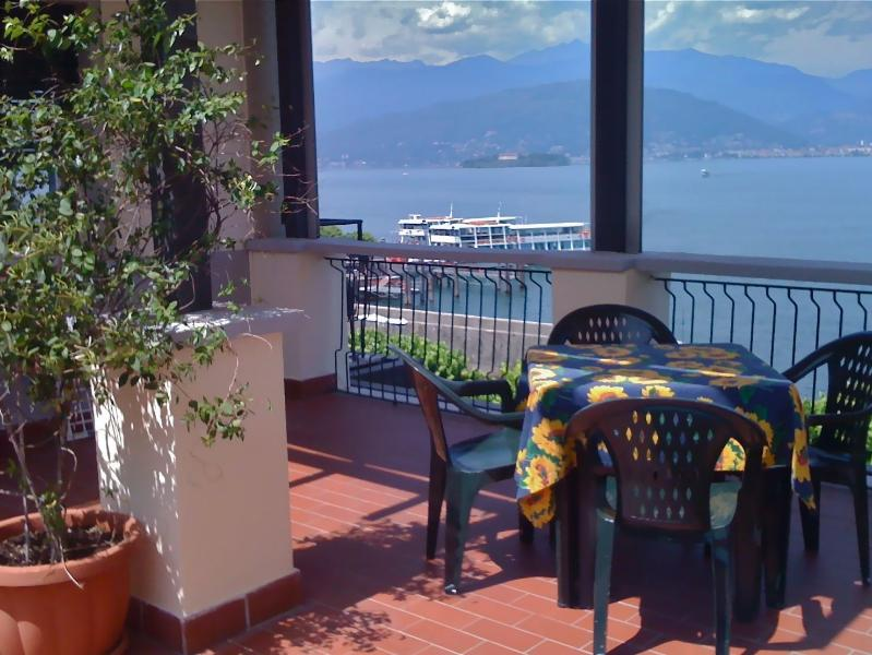 terrace of 25 square metres.the only one in Stresa