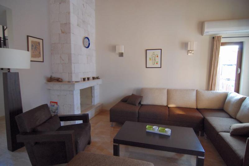 Villa Dunya living room