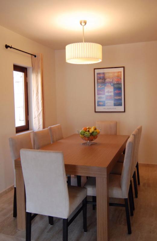 Villa Dunya dining room