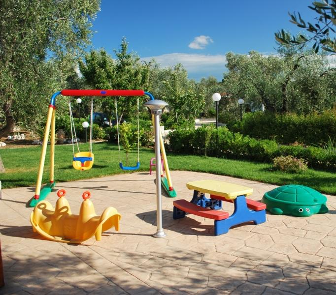 Parque de juegos infantil I Tesori del Sud Vieste