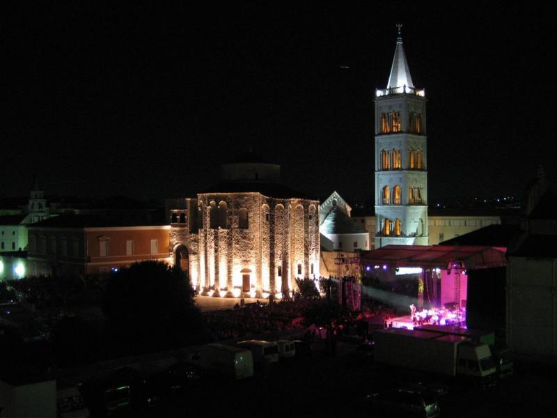 Le concert de Natalie Cole à Zadar 2010.