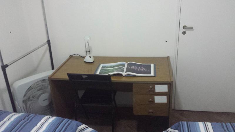 Table, hanger, ventilator