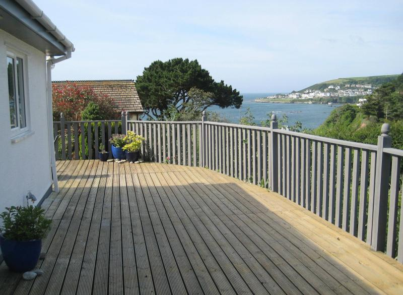 Sun deck looking towards Looe