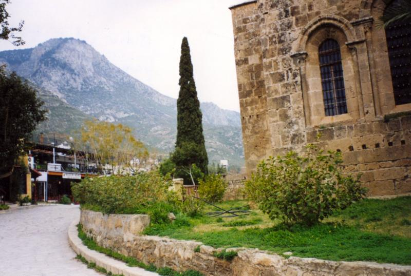 View of village Bellapais