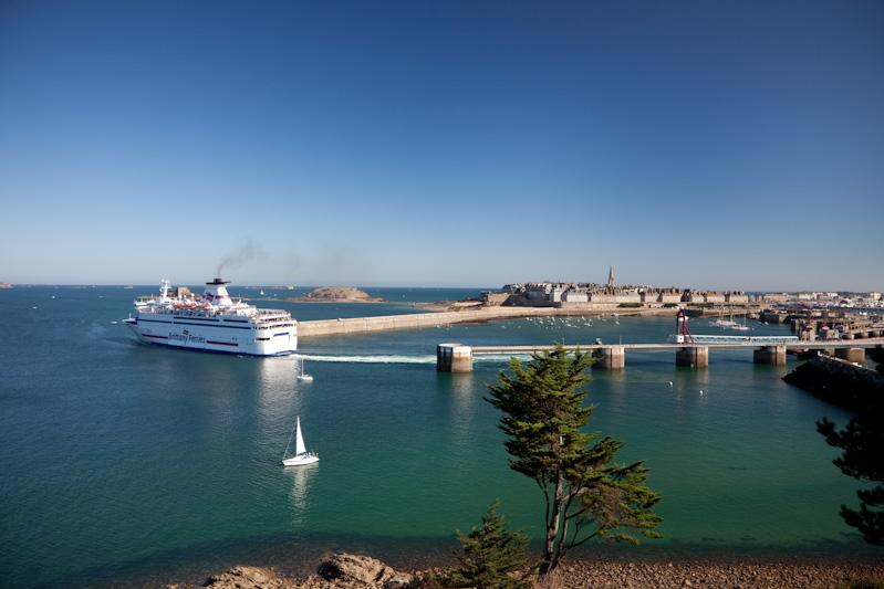 Port of entry Saint Malo