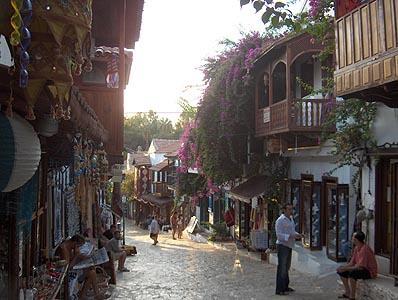 Kas shopping street