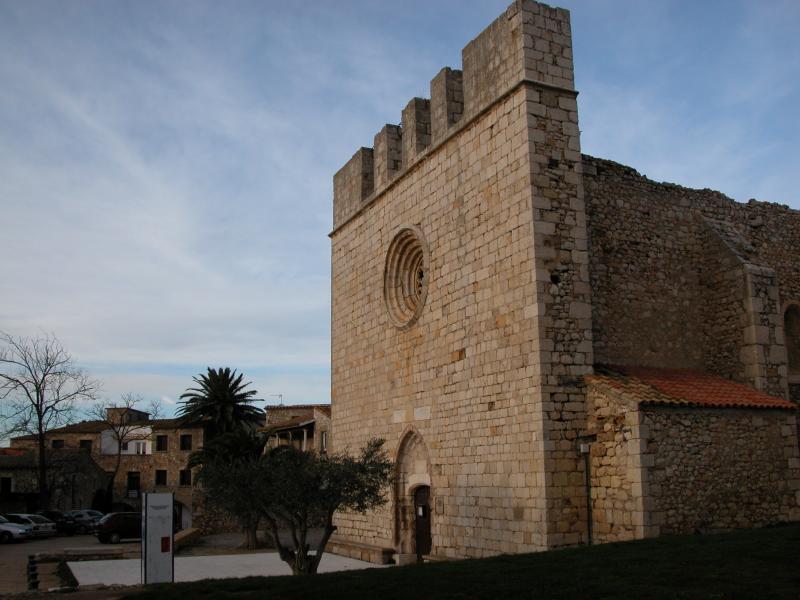 Church of st. Marti d´Empuries