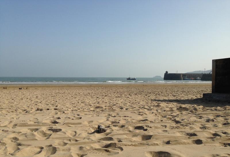 plage Saundersfoot