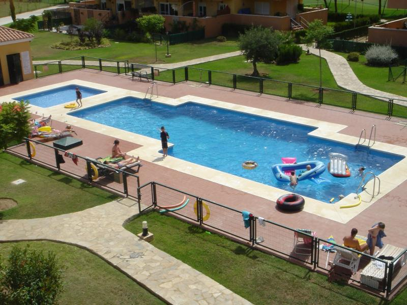 pool as seen from terrace