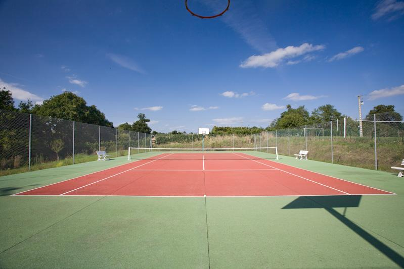 Tennis/Basketball court (available to all renters)