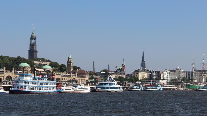 Hamburg, der Hafen