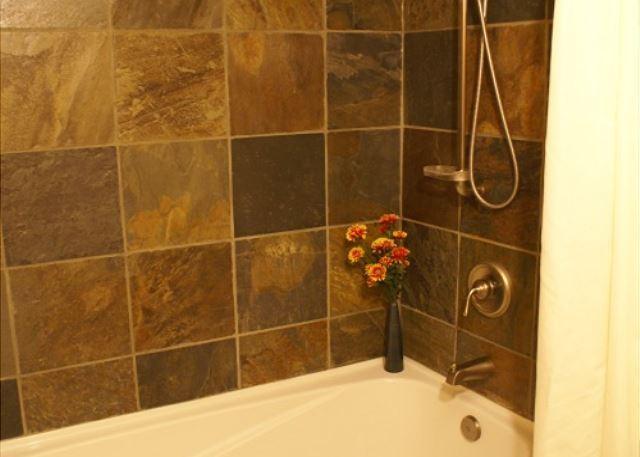 Shower/Bath in upper bathroom