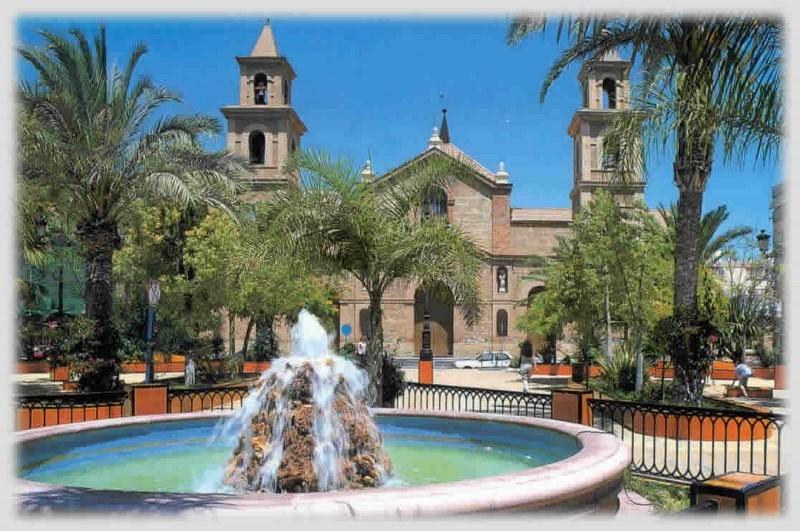Beautiful Church Square In Torrevieja