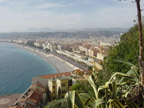Nice Promenade des Anglais and beaches