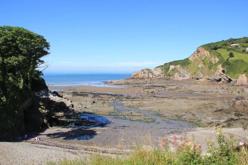 View from Horizon at low tide