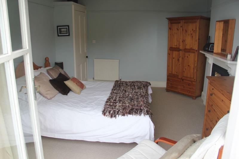 King bedroom on the first floor