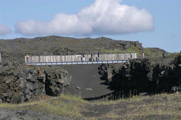 The bridge between continents
