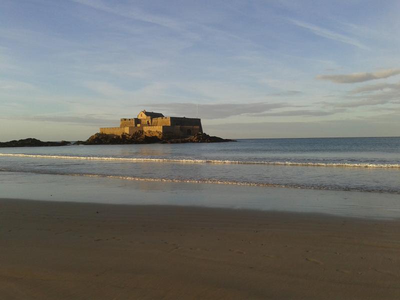 Coastal fort at St Malo