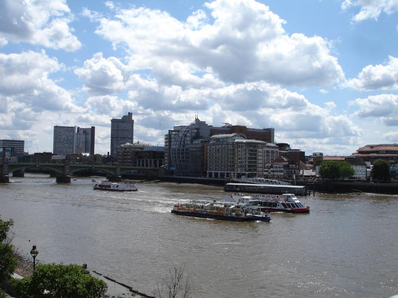 River Thames is due south of John Street. Take a boat trip to Greenwich or walk along the South Bank