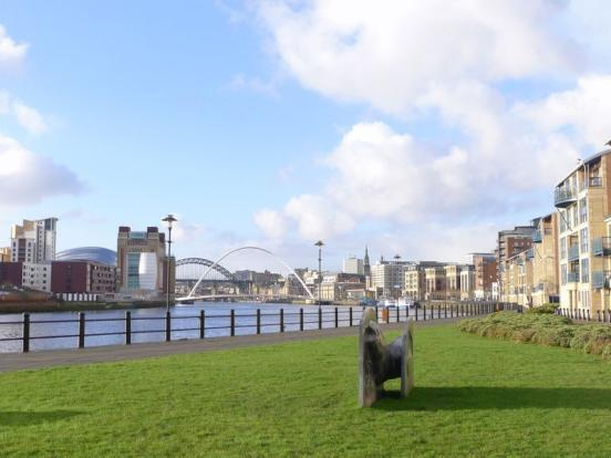 Riverside Apartment with fantastic views along the Tyne - Quayside, Newcastle, holiday rental in Tyne and Wear