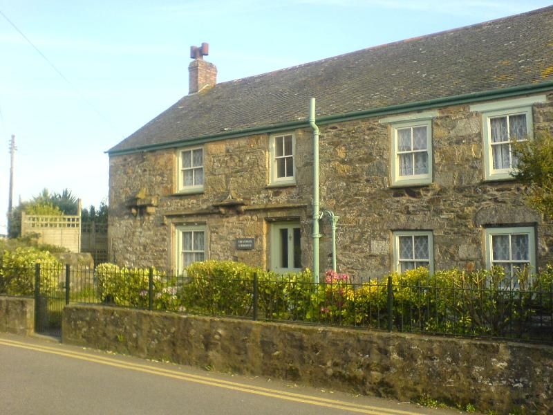 A Granite built Grade 2 listed house. It is the whole house in the picture