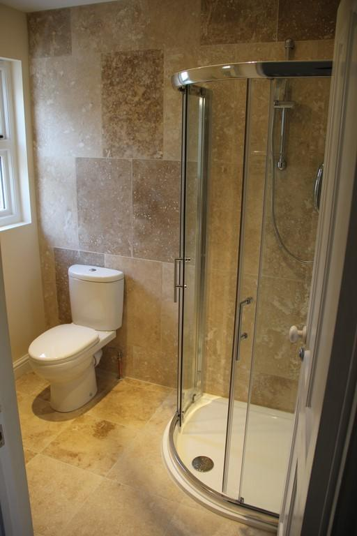 Family shower room on the second floor
