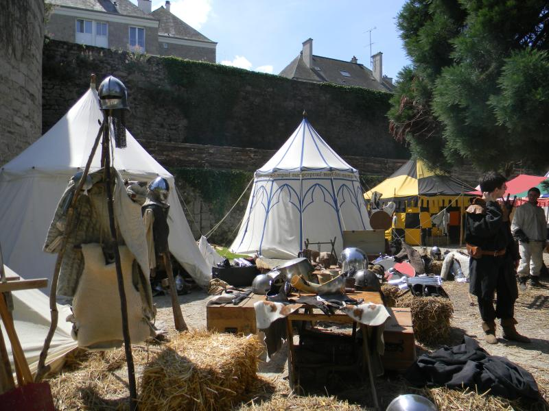 Dinan medieval festival is not to be missed, next one takes place July 2020.