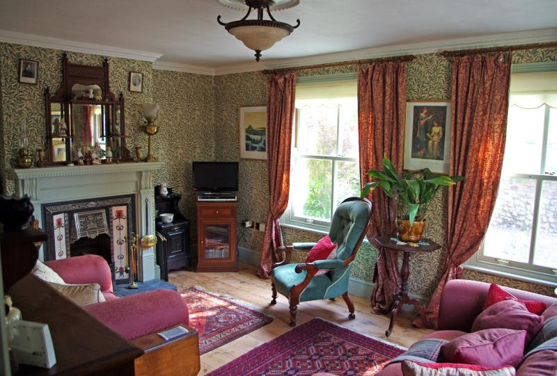 Albion Cottage living room