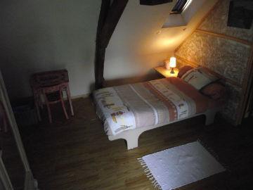 La 2 e chambre avec 2 lits d'une personne.