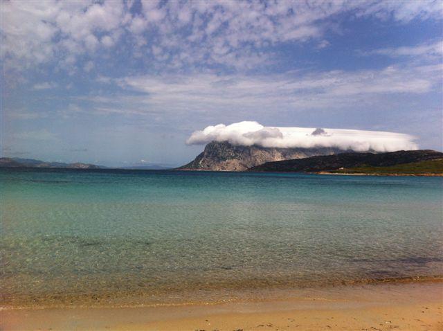 La playa Punta Est Capo Coda Cavallo
