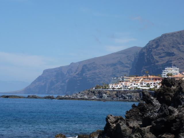 View of Los Gigantes cliffs