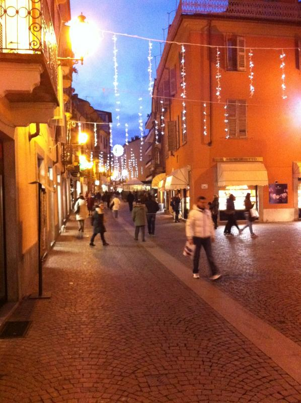 Shopping and dining at Acqui Terme