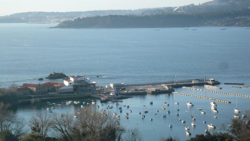 Puerto de Aguete views (Ria de Pontevedra)