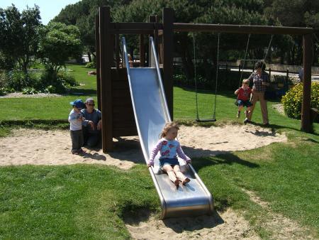 The onsite kiddies park