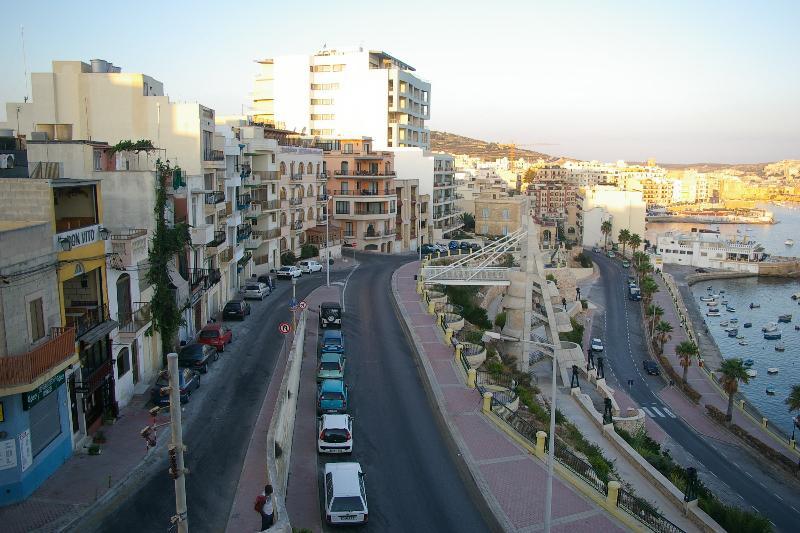 View from main balcony