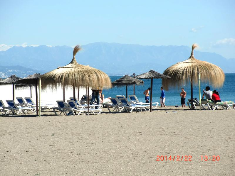 PARASOL  AND SUN BEDS,THAT YOU CAN RENT AND ENJOY THE SUN PLACIDLY,ALL DAY, VERY CHEAP