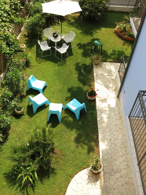 Jardin pour les invités