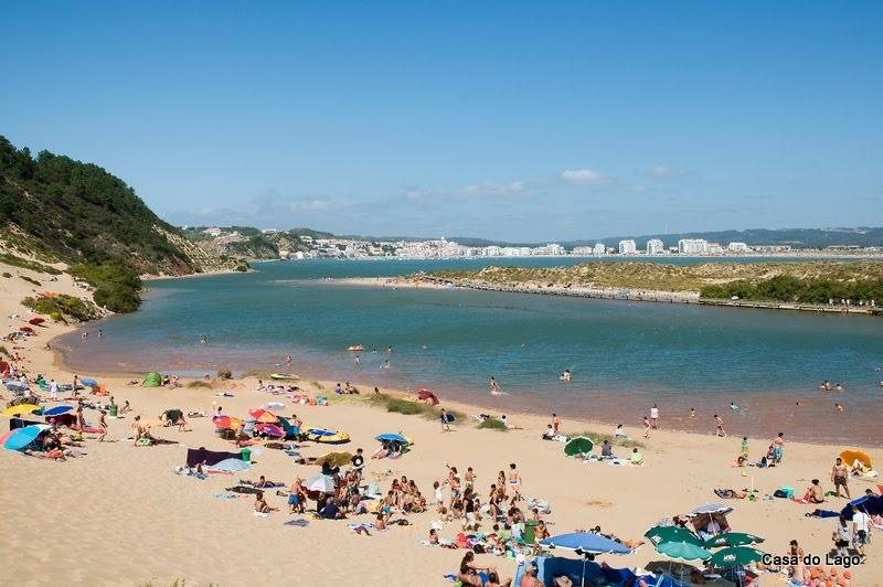 Salir do Porto. 20 minutes walk around the bay to a quiet estuary... great for young children!