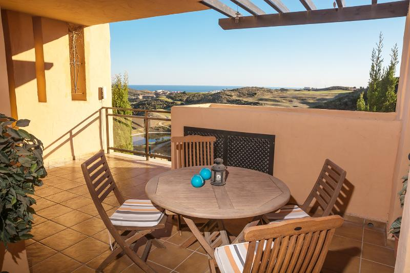 Zone de luxe balcon avec une vue superbe