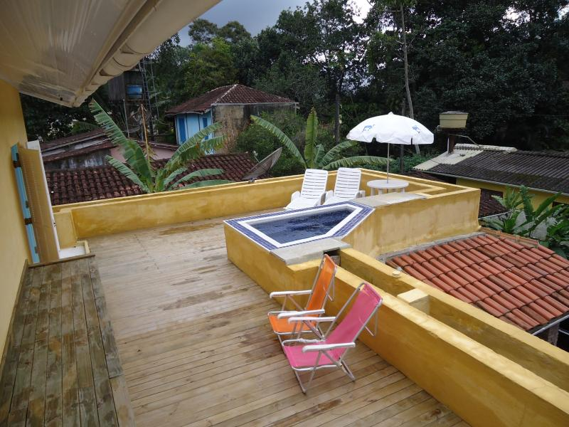 Deck superior com Piscina