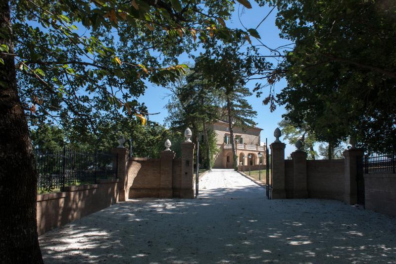 Gate to Villa Nena