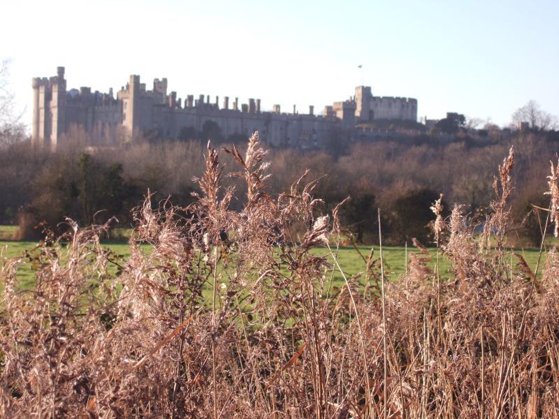 Arundel Castle from Mill Road